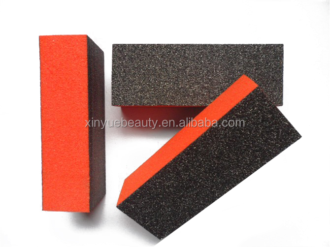 korean material 3 sided nail buffer block high quality nail buffing block 3 way buffer block