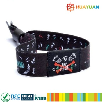 HUAYUAN WP-15 Event Management NTAG213 Fabric Woven RFID X-band