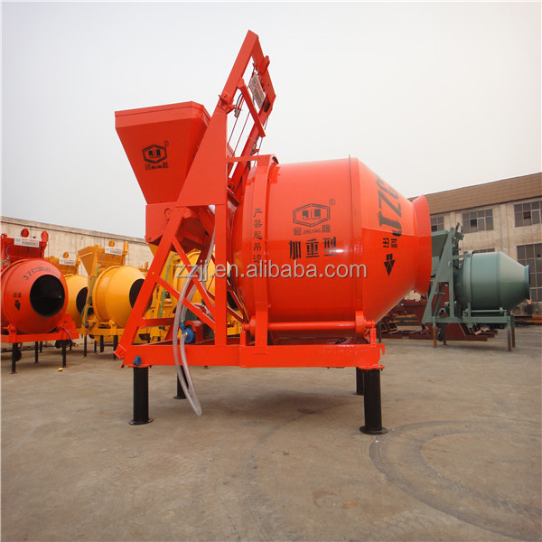 laboratory remote control high capacity bucket easymix concrete mixer