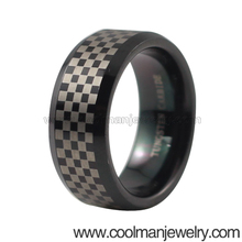 trending hot products black Celtic tungsten ring,fashion jewelry laser engraved unique tungsten ring for men china wholesale