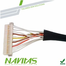 Hirose DF13 Tyco Amp Connector LVDS Cable
