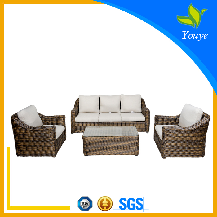 Manufacturer directly supply rattan Latest design luxury outdoor furniture