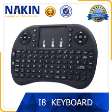 Hot 2.4G air mouse i8 keyboard for android smart tv box