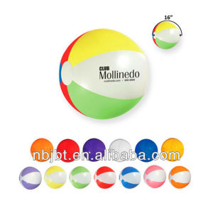Cheap Wholesale Promotion Clear PVC Inflatable Beach Ball