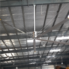 24ft Energy Saving Elecltric Large Industrial Ceiling HVLS Fans For Factory
