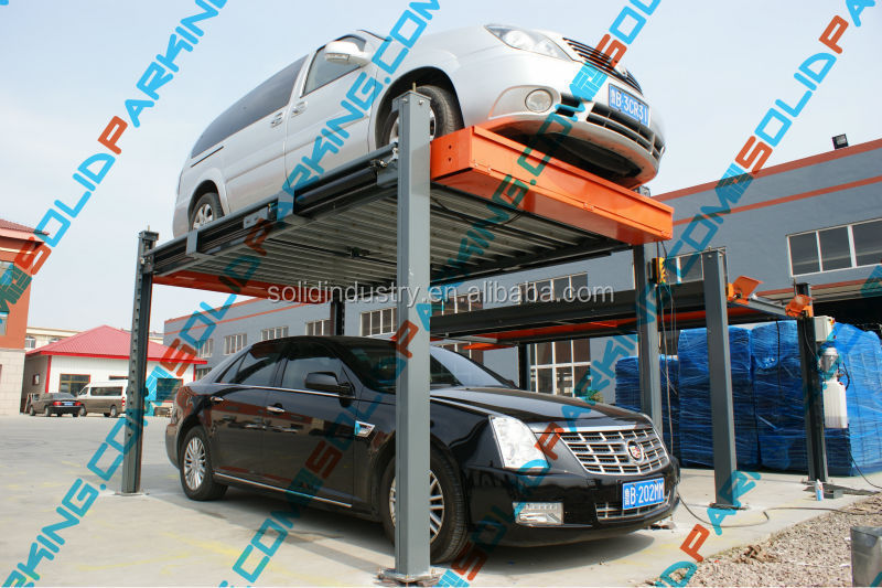 Residential Hydraulic Lifts : Residential hydraulic mobile car parking lift buy