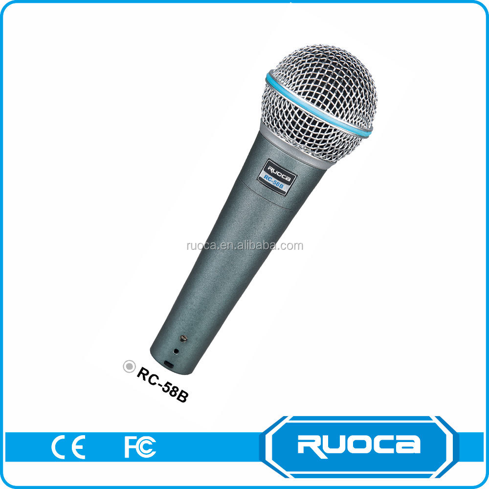 Advertising Promotion uhf performance bus microphone