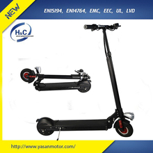 350W Brushless 2 wheel electric kick scooter adult 36V 10Ah folding kick scooter