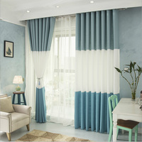 Ready made blackout curtains for windows wholesale bedroom cafe luxury white curtains on sale