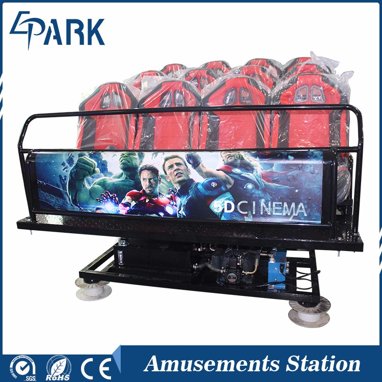 Superior quality Interactive 7d cinema with 7d horror movies