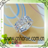 crystal ab color rhinestone elastic ring,wedding napkin ring