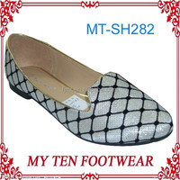 Hot Selling Latest Design Lady Flat Shoes