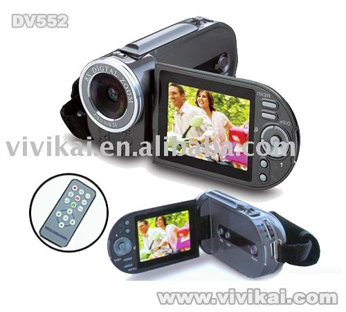 "digital video camcorder with 8X digital zoom&2.4""TFT LCD&still photos/audio record&PC camera&remote control"