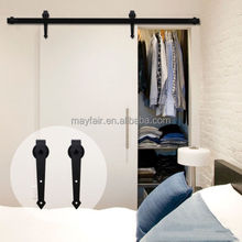 Wholesale Antique Sliding barn door system hardware for interior