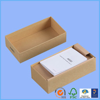 Cardboard lunch wax coated paper food box paper candy box