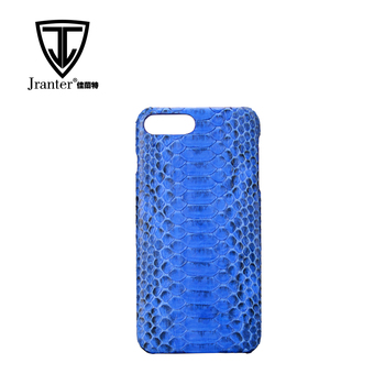 Custom Printed Luxury Exotic Leather Phone Case Phone Cover Python Snakeskin Smartphone Case