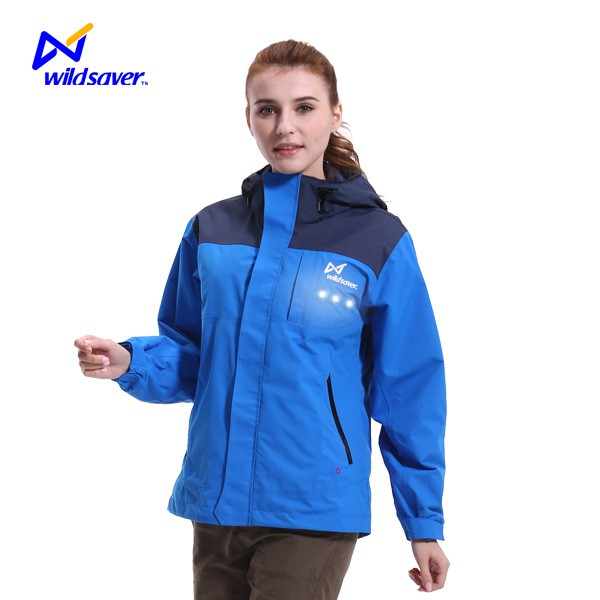 Winter ladies workout hoodie waterproof running gear