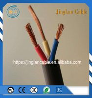 HO7RNF 5 x 10 Rubber Cable With Plain Annealed Copper Wire for industrial applications