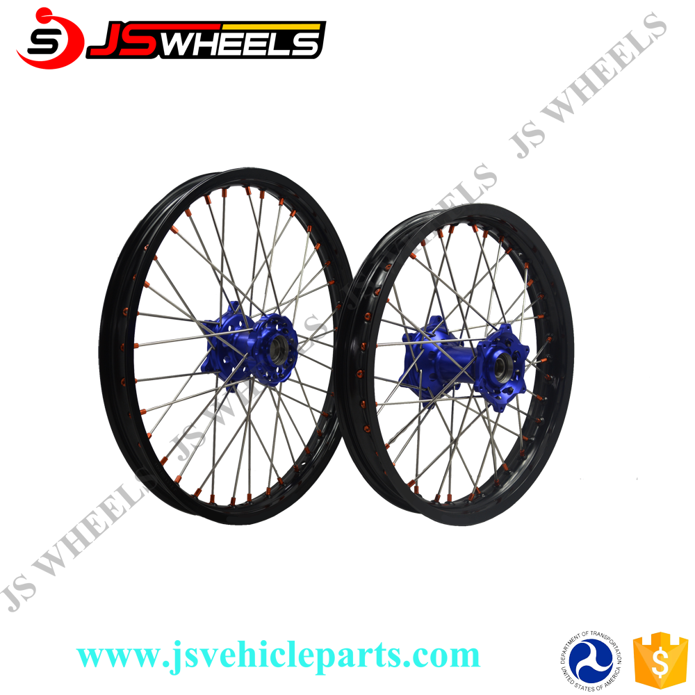 KTM 450 SXF Motorcycle American acing Chrome Wheels