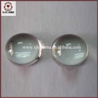 Clear Transparent Half Round Acrylic Ball, Custom-make Acrylic Ball