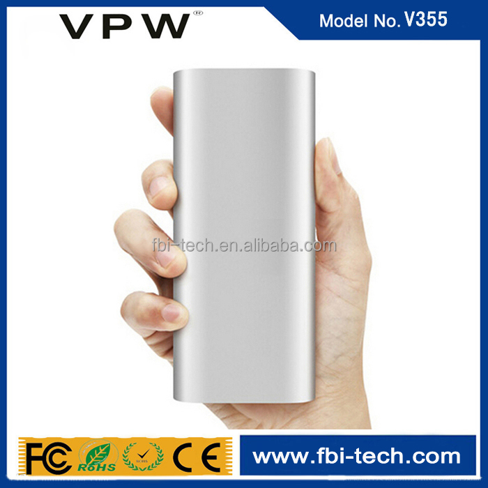 Original factory wholesale xiaomi mi power bank 10000mAh for iphone and android