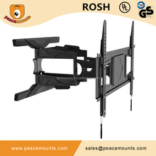 For 32-65 inches of LCD, LED, 3D, Plasma TVs 75lbs Ultra Slim Cantilever Articulating Arm Swivel & Tilt tv rack design