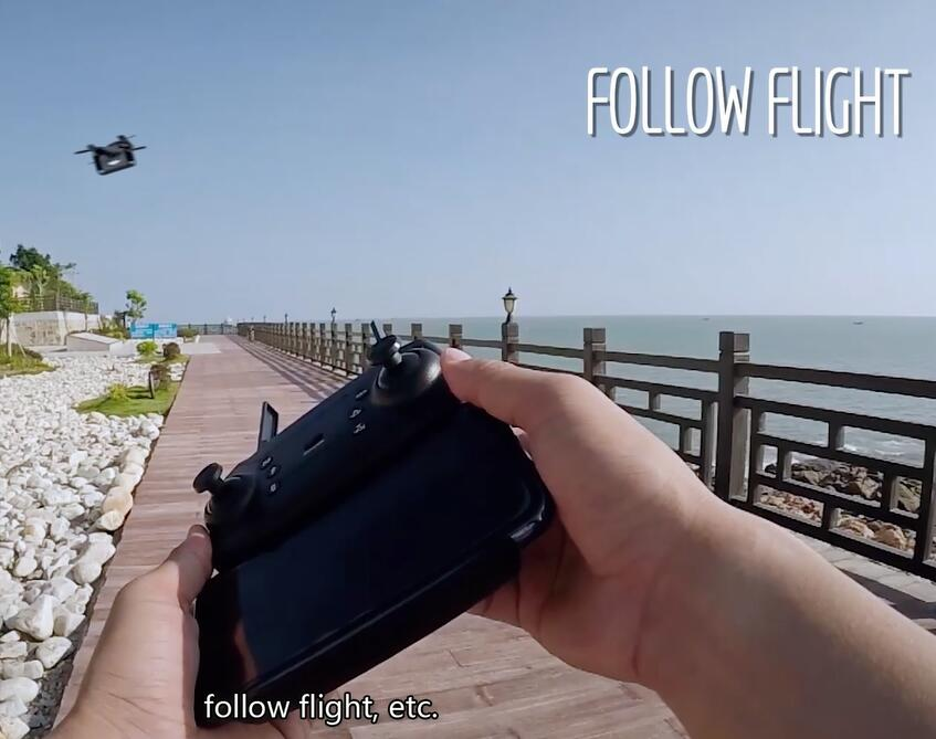 F6 Mini Selfie Drone with Carema WIFI 720P Altitude Hold RC Training Quadcopter