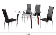 2014 modern black lacquer dining room furniture sets