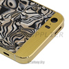 Conch designs for iphone 5s 24kt gold housing for iphone 5 s gold