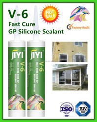 2 minutes skin time acetic fast cure silicone sealant 280g