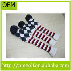 Custom Knitted Golf Club Head Covers