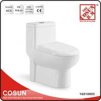 Myanmar Yangon Pedestal One Piece Toilet Bowl