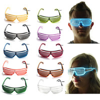 el wire glasses with various colour party decorative