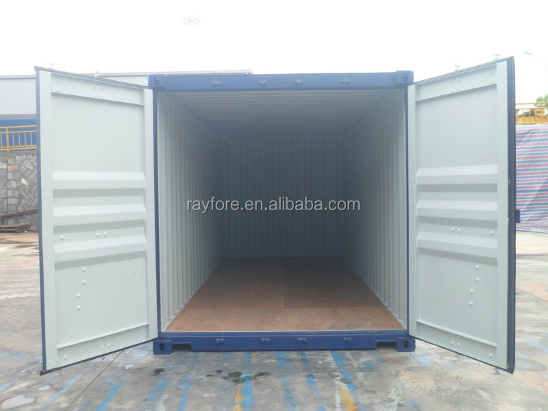 Xiamen new dry container Ningbo 20ft new shipping container
