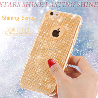 High quality cheap price luxury star lasting shine mobile phone cover tpu soft gel cases designs for iphone 5 5s 6 6s