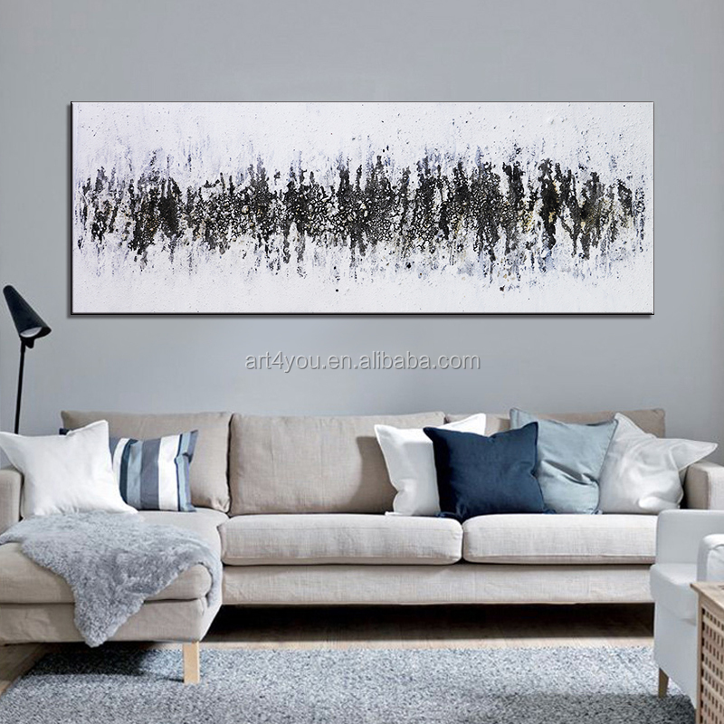 modern abstract hand painted oil painting canvas wall art home tableaux decoration painting nordic large cuadros picture