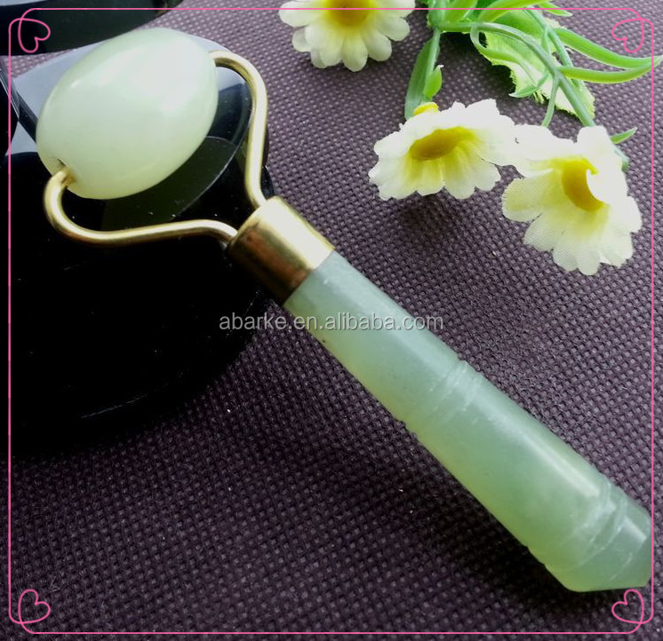 hot new products for 2016 green nature jade neck roller massage