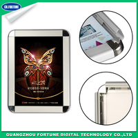Good Quality Aluminum Flat Type Frosted Glossy Picture Frame photo frame digital