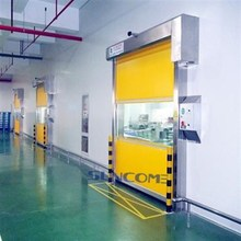 Shanghai Suncome safety high speed plastic rolling door for outside