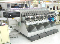 used pick and place machine SMT Fast Component Mounter FCM 2 smt chip pick and place machine