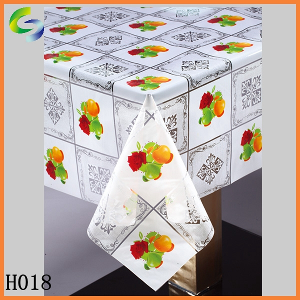 PVC Transparent fabric for tablecloth roll