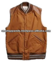 brown varsity vests