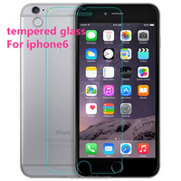 For iphone 6 mobile phone high quality manufacturer price full cover tempered glass screen protector