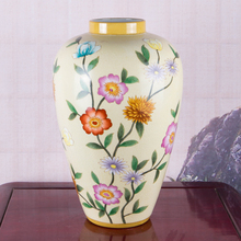 Hotel Home Office Decoration ceramic porcelain Bud Flower Vase