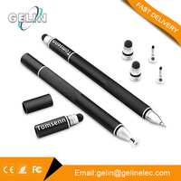 Alibaba golden supplier 3 in 1 disc pen stylus touch pen