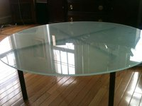 3-19mm Glass Top Dining Table with CCC & EN12150-1 & AS/NZS2208:1996