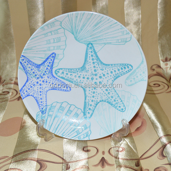 2016 new ceramic microwave dish plate, custom logo ceramic plates dishes, cheap ceramic plates dishes