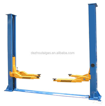 Hot selling Vehicle 2 post hydraulic electric car lift