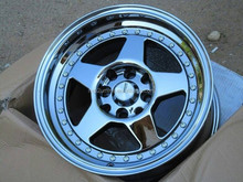 SUPER DEEP LIP chrome alloy wheels rims