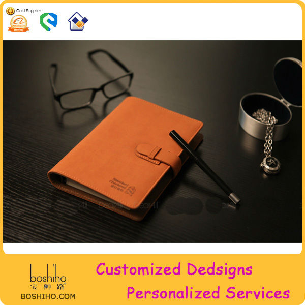 OEM stationery/wholesale pu notebook/leather notebook